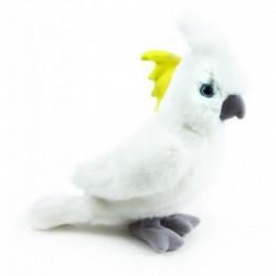 Plyšový papagáj kakadu - 17 cm - Rappa