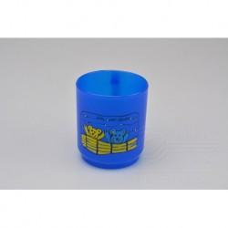 Plastový hrnček - 2,5 dl - modrý s medvedíkmi - TVAR