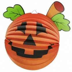 Halloweensky lampión s motívom tekvica - 3D - 25 cm - Rappa
