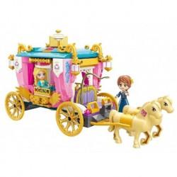 Stavebnica Qman Princess Leah 2614 - Kráľovský kočiar - Rappa
