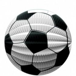 Papierový lampión s motívom futbalovej lopty - 23 cm - Rappa