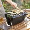 Prenosný skladací gril na drevené uhlie Handy·q - InnovaGoods