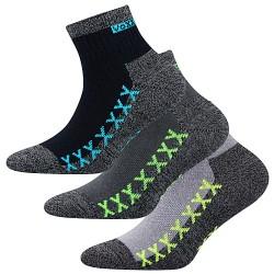 Ponožky Vectorik - mix A - pre chlapcov - 3 páry - VoXX