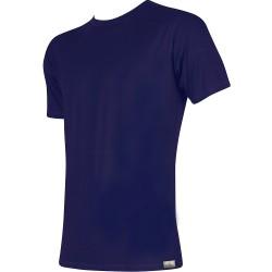 Bambusové tričko - tmavo modré - Lonka