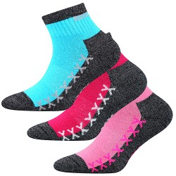 Ponožky Vectorik - mix B - pre dievčatá - 3 páry - VoXX
