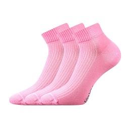 Ponožky Setra - ružové - 3 páry - VoXX