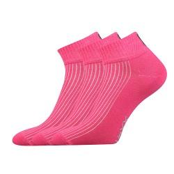 Ponožky Setra - magenta - 3 páry - VoXX