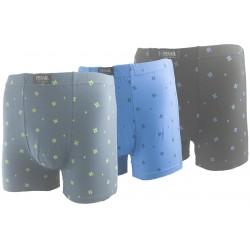 Pánske bavlnené boxerky G55471 - 1 ks - Pesail
