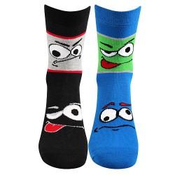 Ponožky Tlamik - mix A - pre chlapcov - 2 páry - Boma