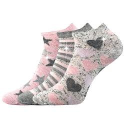 Ponožky Piki 46 - mix - 3 páry - Boma