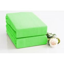 Prémiové froté prestieradlo - svetlozelené - Bed Style