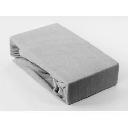 Prémiové froté prestieradlo - sivé - BedStyle