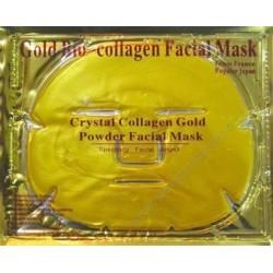 Pleťová maska s 24-karátovým zlatom