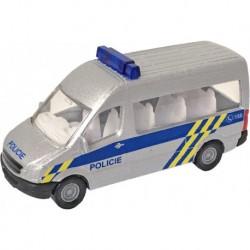 Kovová dodávka Polície Českej republiky - 9,5 cm