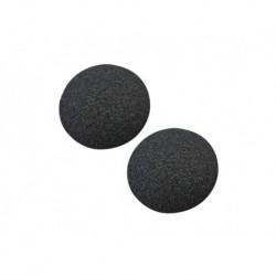Náhradné brúsne hlavice k brúske Pedi Vac - 2 ks - čierne