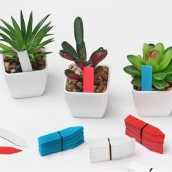 Popisovacie štítky k rastlinám - modré - 100 ks