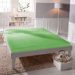 Prémiové jersey prestieradlo - zelené - BedStyle