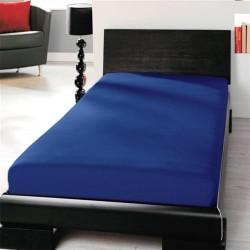 Prémiové jersey prestieradlo - modré - BedStyle