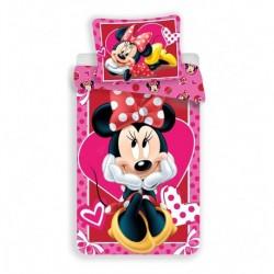Obliečky Minnie hearts 02 140/200, 70/90