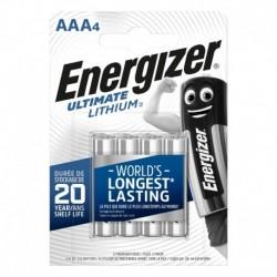 Mikrotužkové batérie Ultimate Lithium - 4x AAA - Energizer