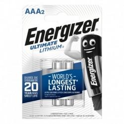 Mikrotužkové batérie Ultimate Lithium - 2x AAA - Energizer