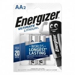 Tužkové batérie Ultimate Lithium - 2x AA - Energizer