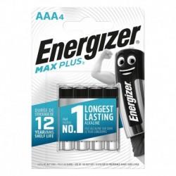 Mikrotužkové batérie MAX Plus - 4x AAA - Energizer