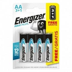 Tužkové batérie MAX Plus - 4x AA - 3 + 1 zadarmo - Energizer
