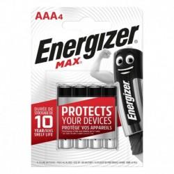 Mikrotužkové batérie MAX - 4x AAA - Energizer