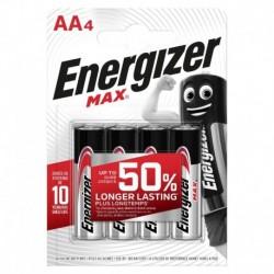 Tužkové batérie MAX - 4x AA - Energizer