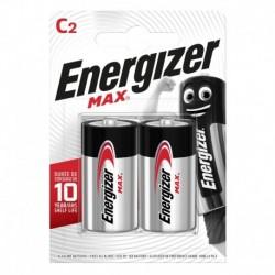 Malý monočlánok MAX Plus - 2x C - Energizer