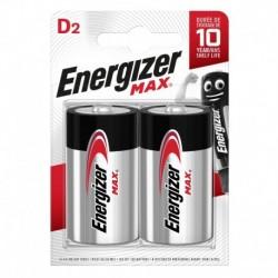 Veľký monočlánok MAX Plus - 2x D - Energizer