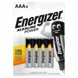 Mikrotužkové batérie Alkaline Power - 4x AAA - Energizer