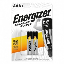 Mikrotužkové batérie Alkaline Power - 2x AAA - Energizer