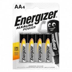 Tužkové batérie Alkaline Power - 4x AA - Energizer