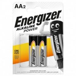 Tužkové batérie Alkaline Power - 2x AA - Energizer