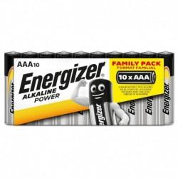 Mikrotužkové batérie Alkaline Power - 10x AAA - family pack - Energizer