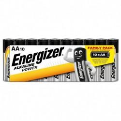 Tužkové batérie Alkaline Power - 10x AA - family pack - Energizer
