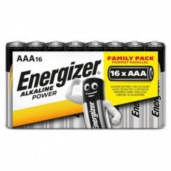 Mikrotužkové batérie Alkaline Power - 16x AAA - family pack - Energizer
