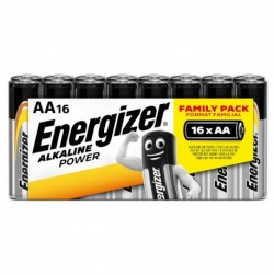 Tužkové batérie Alkaline Power - 16x AA - family pack - Energizer