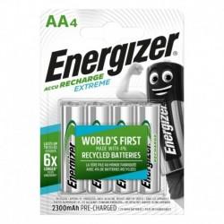 Nabíjacie tužkové batérie EXTREME - 4x AA - 2300 mAh - Energizer
