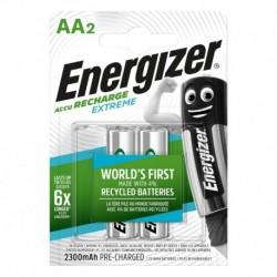 Nabíjacie tužkové batérie EXTREME DUO - 2x AA - 2300 mAh - Energizer