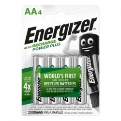 Nabíjacie tužkové batérie POWER PLUS - 4x AA - 2000 mAh - Energizer