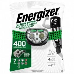 Čelové nabíjacie svietidlo - Headlight Vision Rechargeable - 400 lm - Energizer
