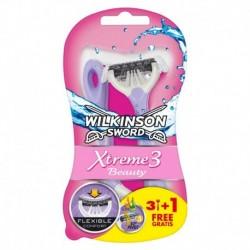 Jednorazový holiaci strojček Sword Xtreme 3 Beauty - 3 + 1 ks - Wilkinson