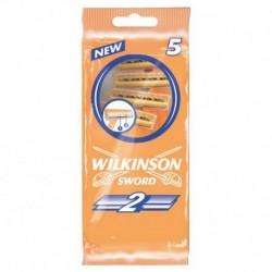 Jednorazový holiaci strojček Sword 2 - 5 ks - Wilkinson
