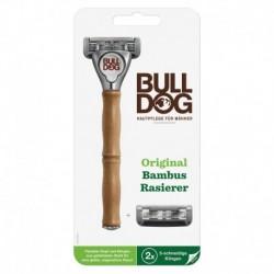 Holicí strojek Original Bamboo + 2 náhradní hlavice - Bulldog