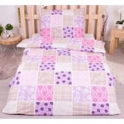 Bavlnené obliečky - Kvetinové dlaždice - 140 x 200 cm