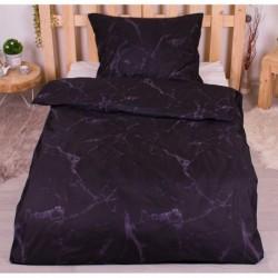 Microtop obliečky - Čierny mramor - 140 x 200 cm