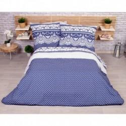 Francúzske obliečky - Canzone - modrá - 220 x 200 cm